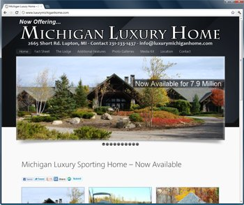 Luxury Home Website