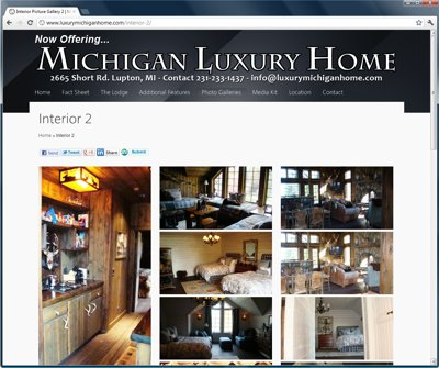 Luxury Michigan Home Screenshot