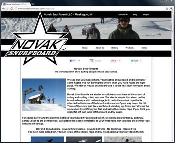 Novak Snurfboard