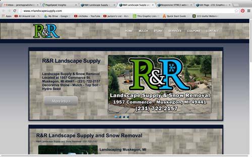 RR Responsive web design