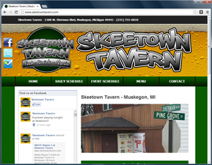 skeetown tavern website wordpress