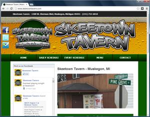 skeetown tavern website wordpress