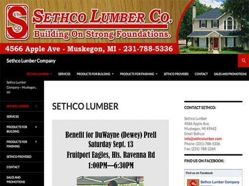 Sethco Lumber