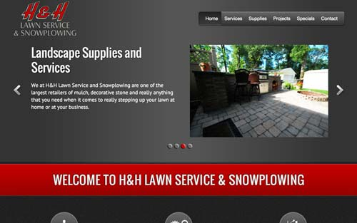 HH Lawn Supply Website