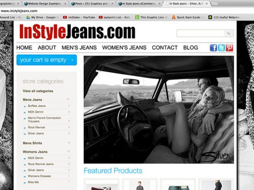 In Style Jeans – eCommerce