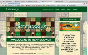Hennessy's Irish Pub Screenshot
