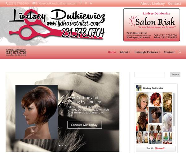 Hairstylist Website