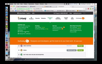 How To Set Up GoDaddy Hosting without a Domain