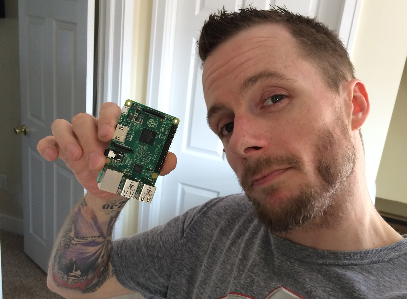 Jeremy G Web Dev with Raspberry Pi