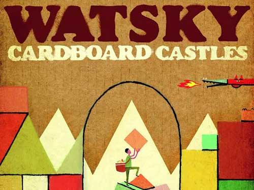 watsky cardboard castles album cover