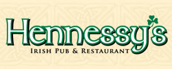 Hennessy's Irish Pub - Website Design Example