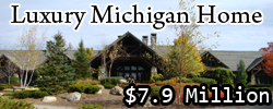 Luxury Michigan Home - Website Design Example