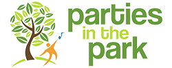 Parties in the Park - Website Design Example