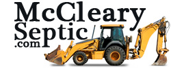 McCleary Septic Service - Website Design Example