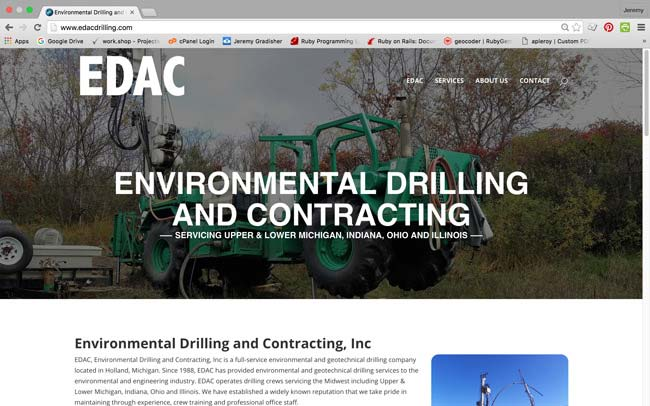 EDAC Drilling Website