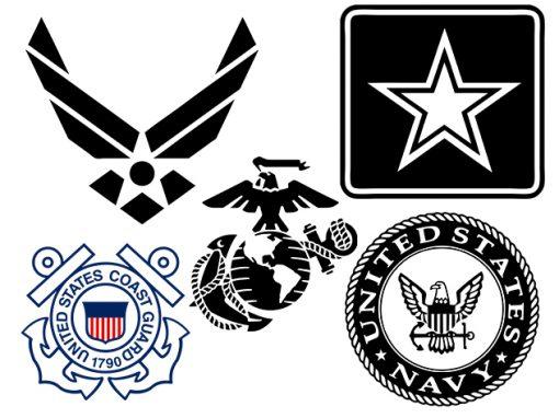 Military Logos Vector