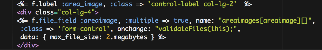 additional code for the file_field for client side validations