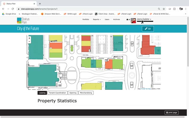 Lease mapping using Leaflet javascript