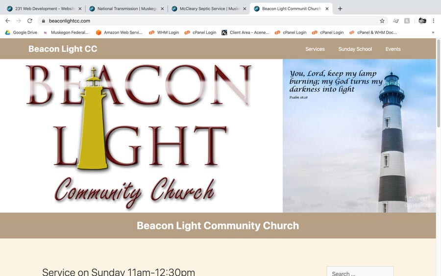 Beacon Light CC screenshot