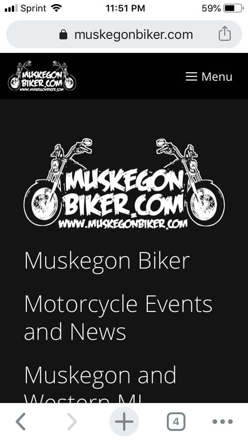 Muskegon Biker Phone screenshot